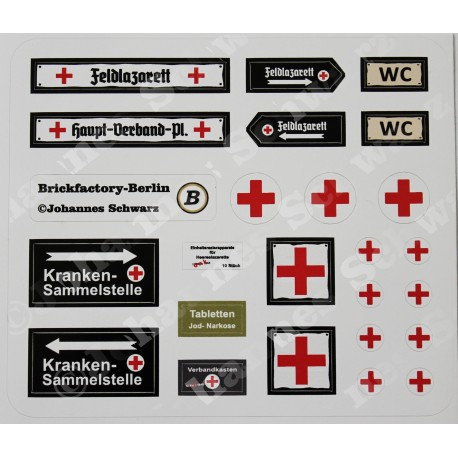 WW2 - Stickervel - Set 3
