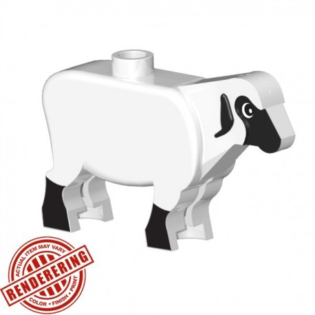 BrickForge Sheep - White