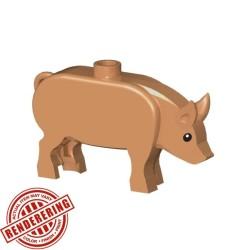 BrickForge Pig - Flesh