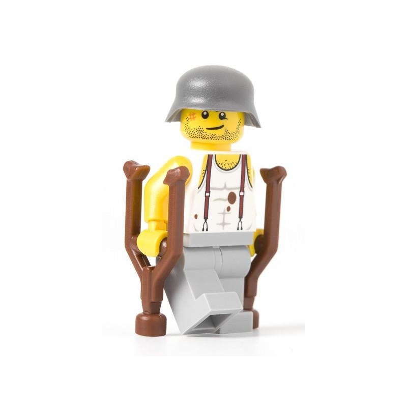 Verwundete deutsche Soldat
