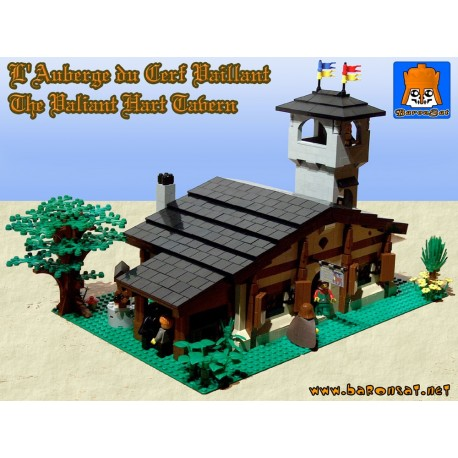 Valiant Hart Tavern - Building instructions