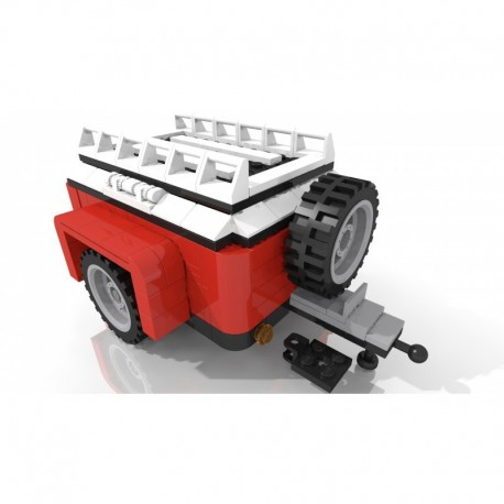Luggage trailer - Red