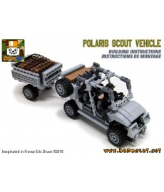 Polaris Scout Truck - Building instructions