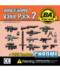 BrickArms Value Pack 2