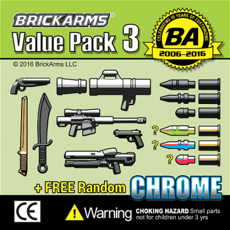 BrickArms Value Pack 3