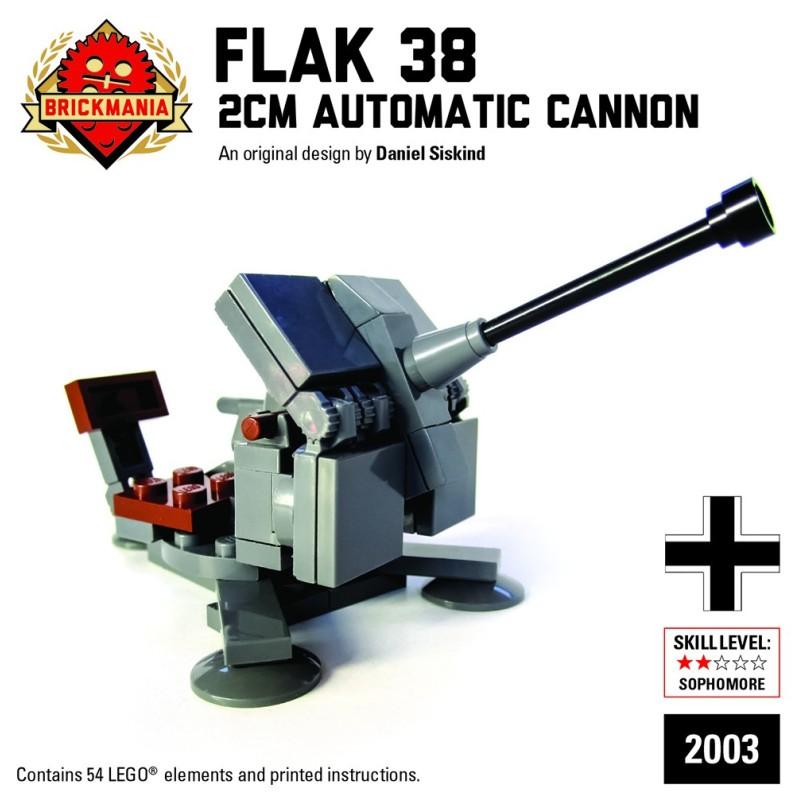 Flak 38 2cm Automatic Cannon