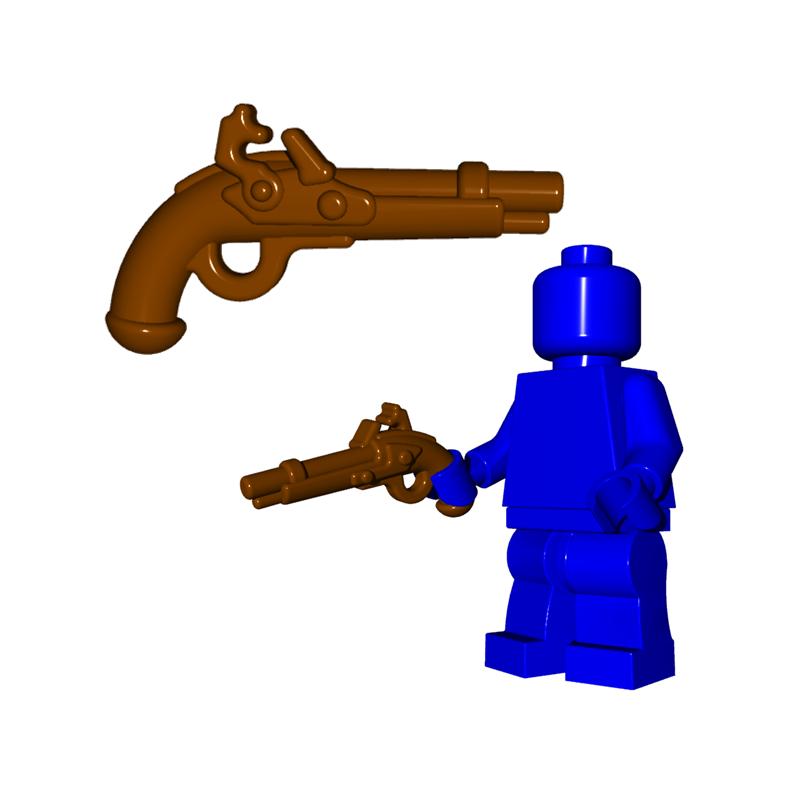 Flintlock Pistole BW