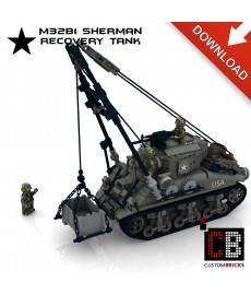 M32B1 Sherman Recovery Tank - Building instructions