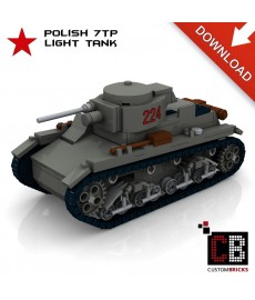 7TP light Tank - Bouwinstructies