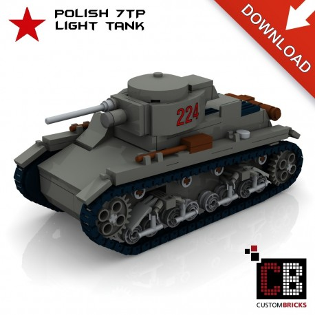 7TP light Tank - Building instructions
