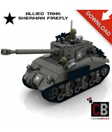 Sherman Firefly Tank - Building instructions