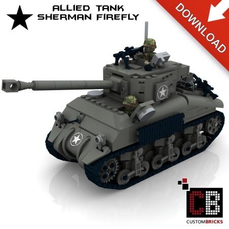 Sherman Firefly Panzer - Bauanleitung