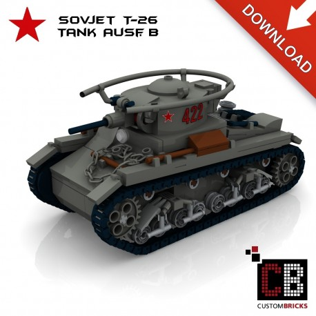 T-26 Tank Ausf.B - Building instructions