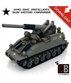 M40 GMC - Gun Motor Carriage - Bouwinstructies