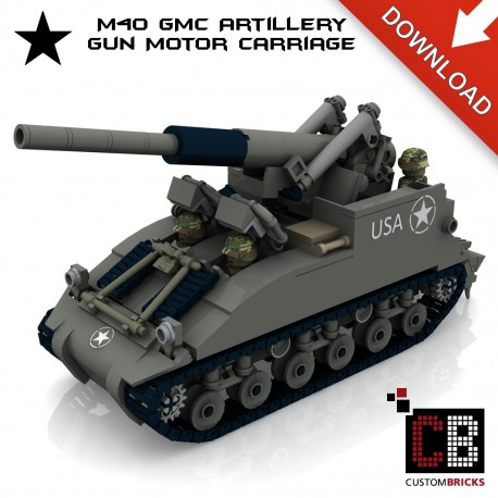 M40 GMC - Gun Motor Carriage - Building instructions