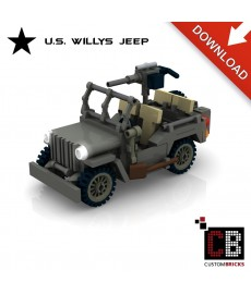 U.S. MB Willys Jeep - Bouwinstructies