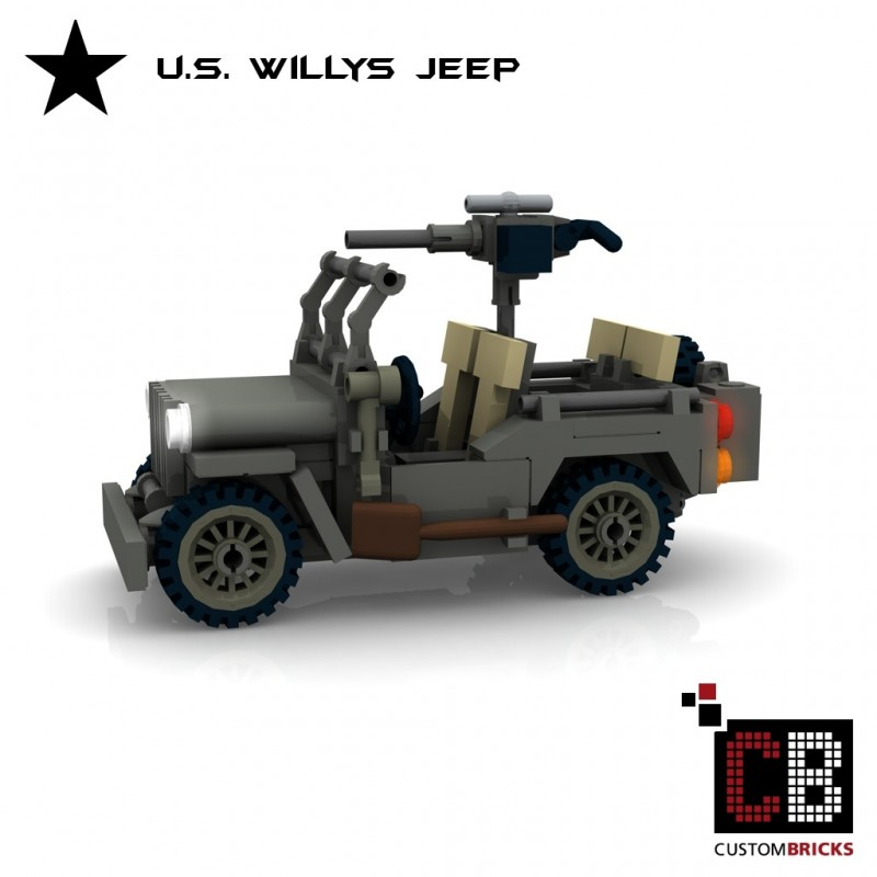 Us Mb Willys Jeep Building Instructions
