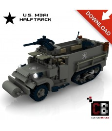 M3A1 - Halftrack - Building instructions