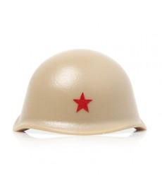 WW2 - Russian Helmet - Red Star