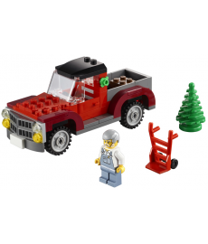 LEGO ® Christmas Pickup Truck