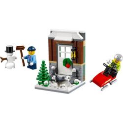 LEGO ® Kerst Winter Plezier