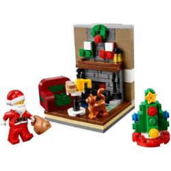 LEGO ® Bezoek van de Kerstman