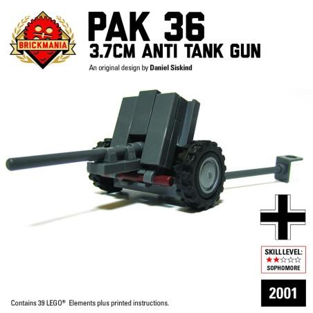 BrickMania - Pak36 3.7cm Antitank Gun