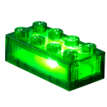 2×4 Brick - Transparant