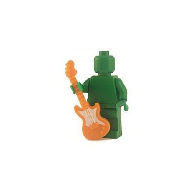Electric Guitar - Orange
