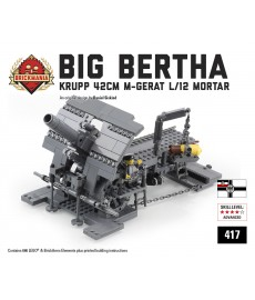 """Big Bertha"" Krupp 42cm M-Gerat L/12 Mortar"