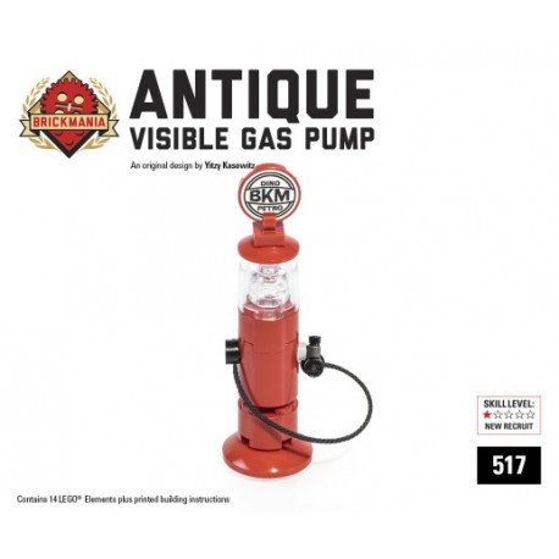 Antike Gas-Pumpe