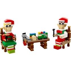 LEGO ® Santa im Schlitten