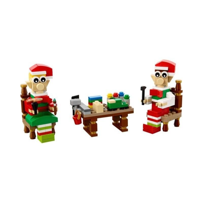 LEGO ® Kerstman in de Arreslee