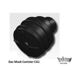 Gasmasker - Zwart