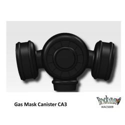 Gasmaske Kanister CA1 - Schwarz