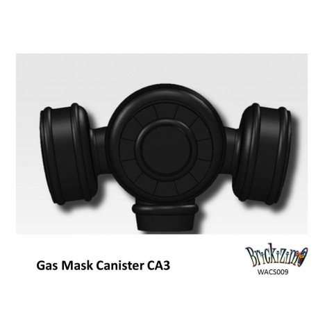 Gas Mask Canister CA1 - Black