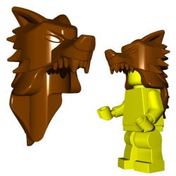 Wolf Pelt helm