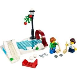 LEGO ® Winter Schaatsen