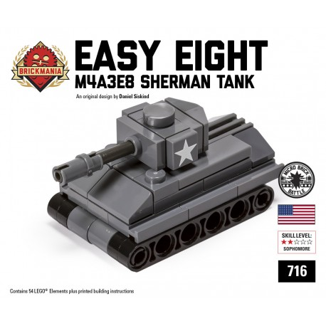 """Easy Eight"" M4A3E8 Sherman - Micro-tank"