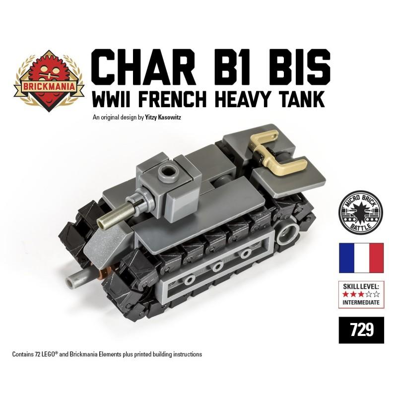 Char B1 Bis - Micro-tank