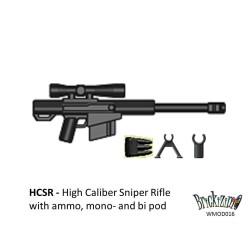 M21 Sniper Rifle with ammo, mono- and bi pod