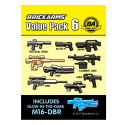 BrickArms Value Pack 6 wapen set voor LEGO Minifigures