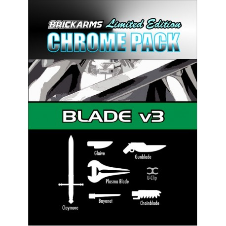 BrickArms Chrome World @ War v3 Pack