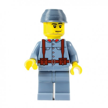 WWI French Soldier - Minifig Battlefields