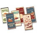 2x4 Retro Tile set