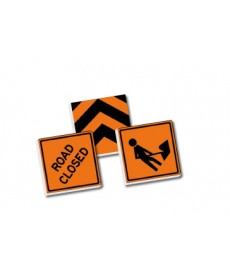 2x2 Traffic signs set - orange