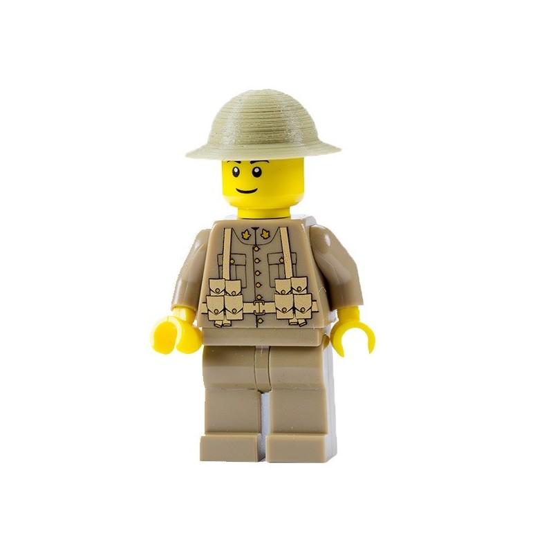 WWI Canadese Soldaat - Minifig Battlefields
