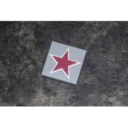 2x2 Russische roder ster