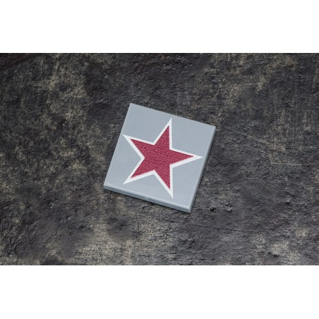 2x2 Russian Red Star