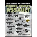 Brickarms Modern Combat Pack - Assault Pack wapen set voor LEGO Minifigures